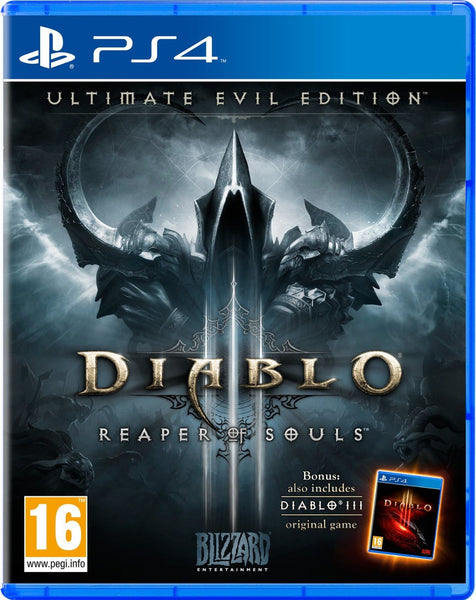 Diablo III: Reaper of Souls - Ultimate Evil Edition - PS4 - Video Games by ACTIVISION The Chelsea Gamer