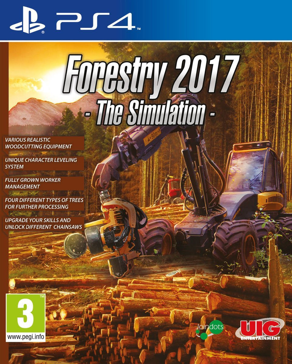 Forestry Simulation 2017 - PS4 - Video Games by UIG Entertainment The Chelsea Gamer