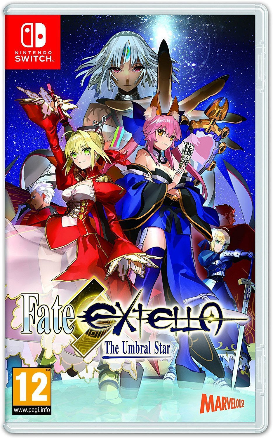 Fate Extella: The Umbral Star - Nintendo Switch - Video Games by pqube The Chelsea Gamer