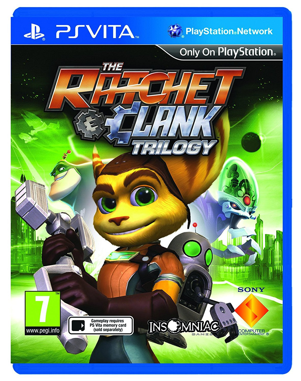 Ratchet and Clank Trilogy (Playstation Vita) - Video Games by Sony The Chelsea Gamer