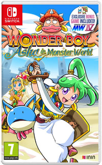 Wonder Boy: Asha in Monster World - Nintendo Switch