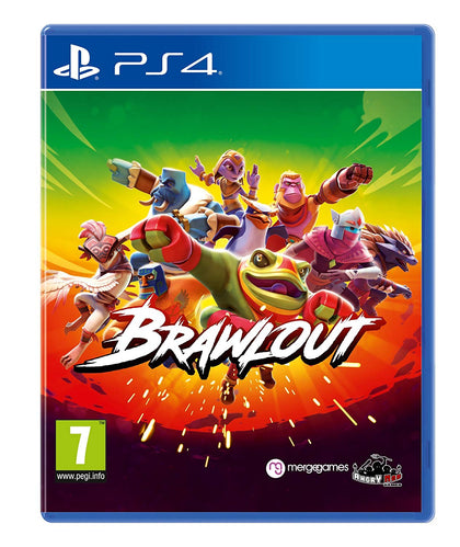 Brawlout - PlayStation 4 - Video Games by Merge Games The Chelsea Gamer