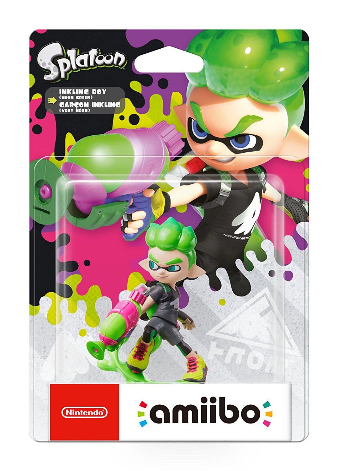 Inkling Boy amiibo - Splatoon 2 - Switch - Video Games by Nintendo The Chelsea Gamer