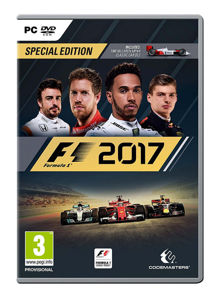 F1 2017 Standard Edition - PC - Video Games by Codemasters The Chelsea Gamer