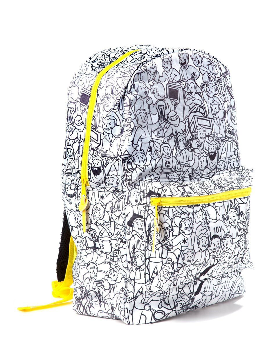 Fallout 4 All Over Printed Backpack