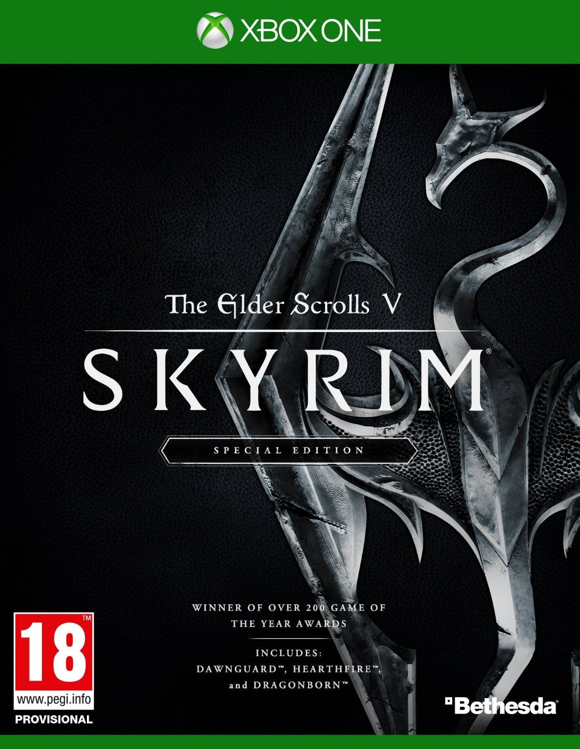 The Elder Scrolls V: Skyrim Special Edition Xbox One