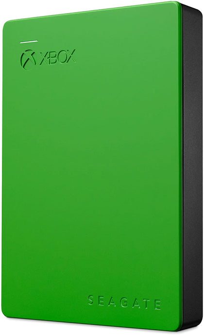 Seagate Game Drive (4TB) 2.5-inch Portable Hard Drive USB 3.0 (Green) for Xbox One (External)