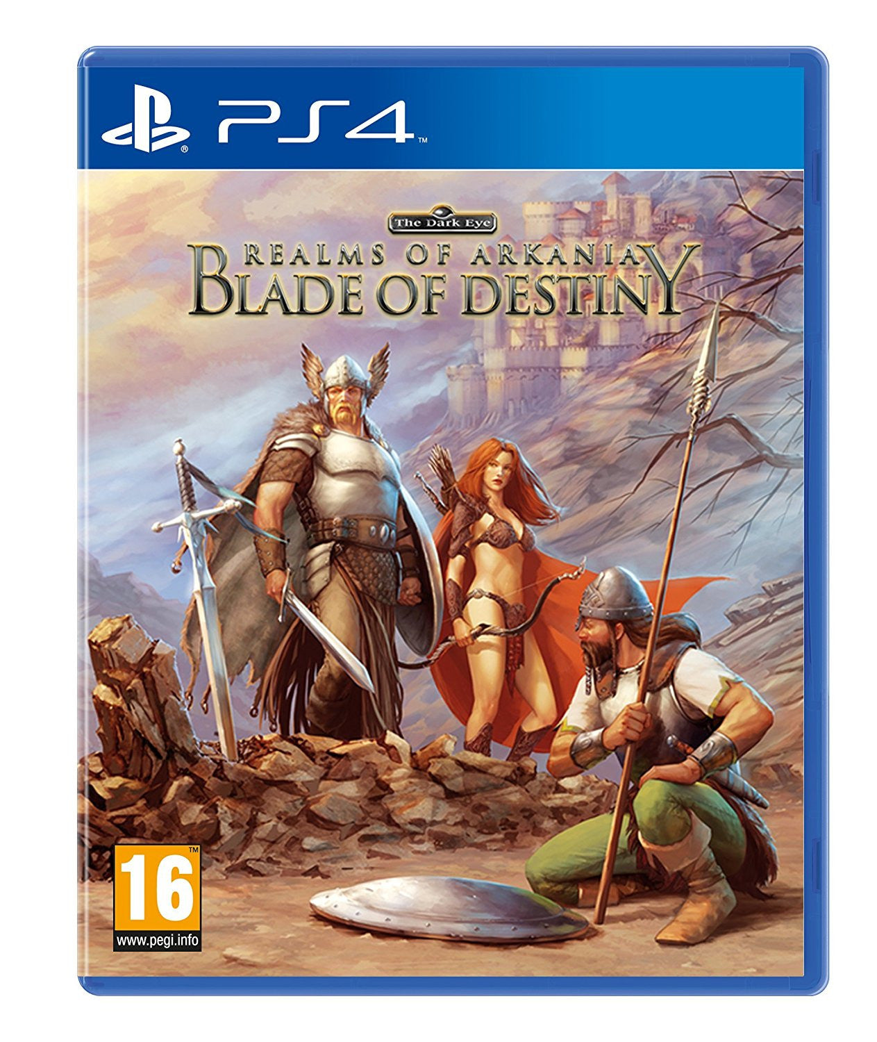 REALMS OF ARKANIA- BLADE OF DESTINY - PS4