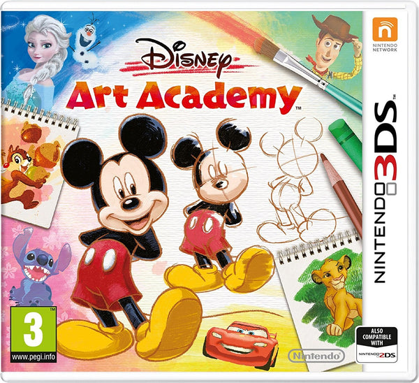 Disney Art Academy (Nintendo 3DS) - Video Games by Nintendo The Chelsea Gamer