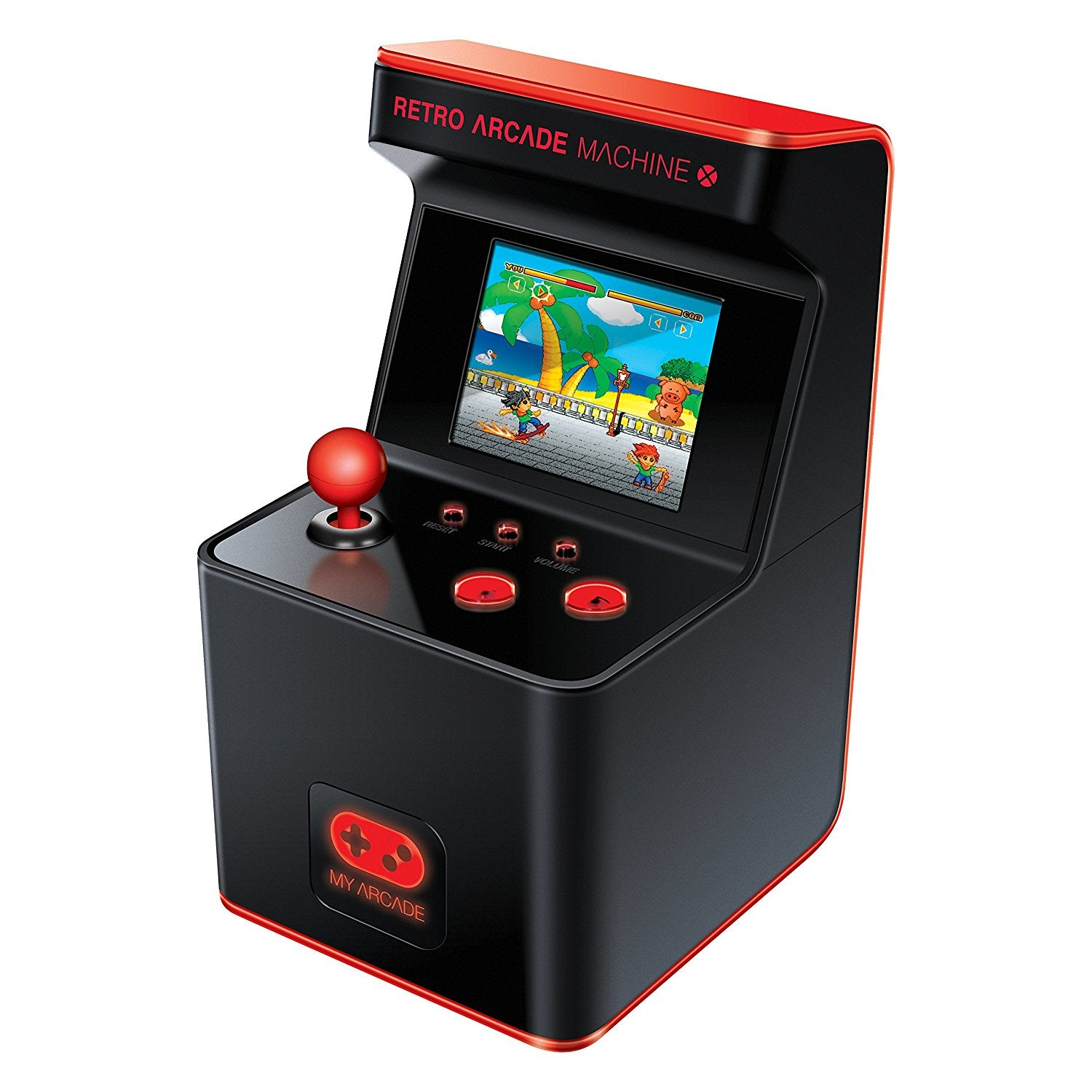 My Arcade DGUN-2593 Portable Retro Machine 16-Bit Mini Cabinet