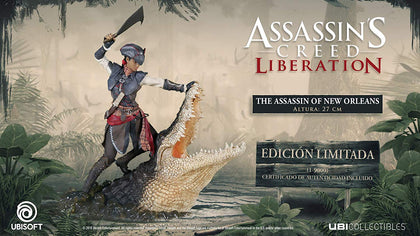 Assassin's Creed Liberation: The Assassin of New Orleans - merchandise by UBI Soft The Chelsea Gamer