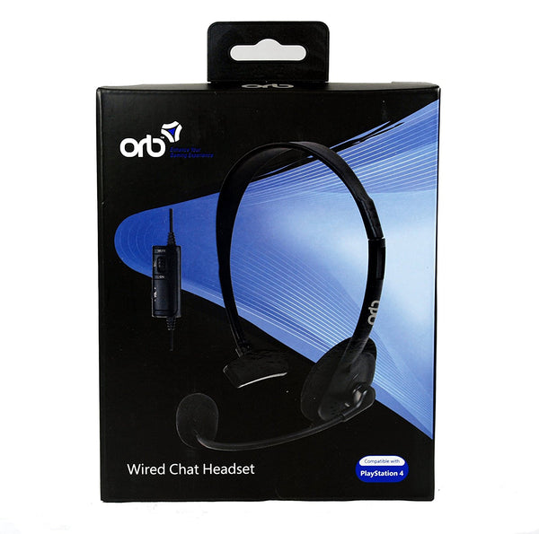 ORB Wired Chat Headset (PS4) - Video Games by ORB The Chelsea Gamer