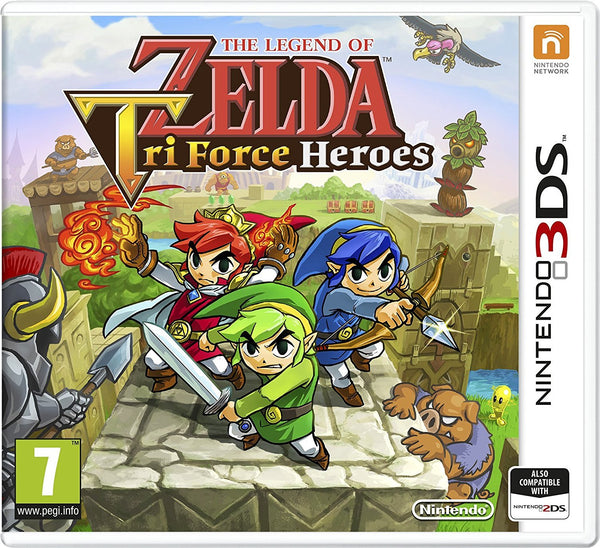 The Legend Of Zelda Tri Force Heroes (Nintendo 3DS) - Video Games by Nintendo The Chelsea Gamer