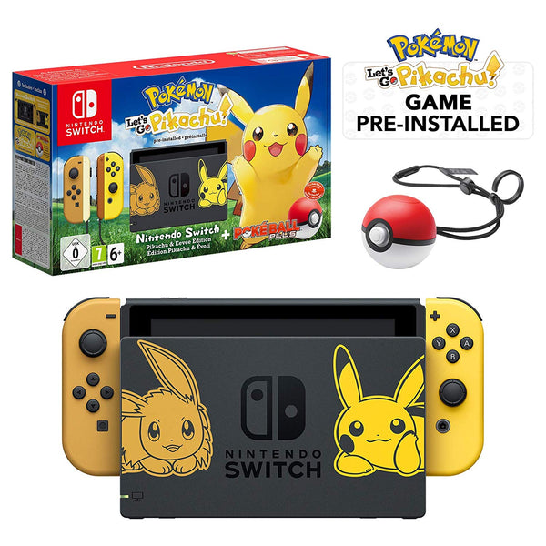 Pokemon Lets Go Limited Edition Bundle - Nintendo Switch