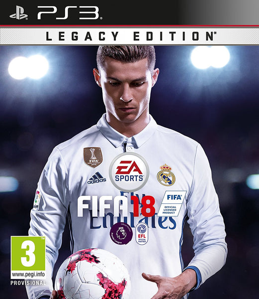 Fifa 18  - PlayStation 3 - Standard Edition - Video Games by Electronic Arts The Chelsea Gamer