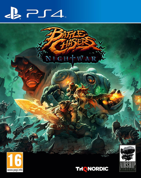Battle Chasers Nightwar - PS4 - Video Games by Nordic Games The Chelsea Gamer