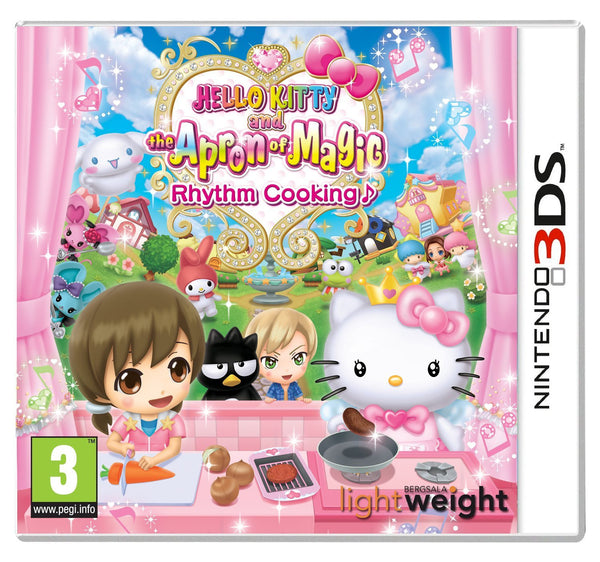 Hello Kitty and The Apron of Magic Rhythm Cooking (Nintendo 3DS) - Video Games by Rising Star Games The Chelsea Gamer