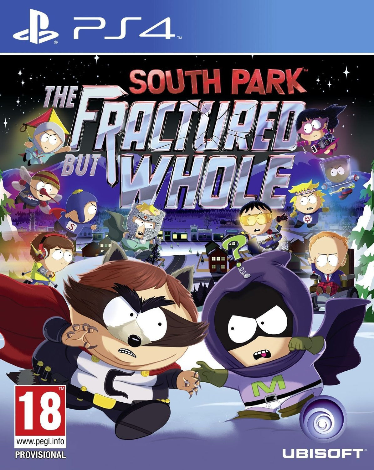 South Park: The Fractured But Whole - PS4 - Video Games by UBI Soft The Chelsea Gamer