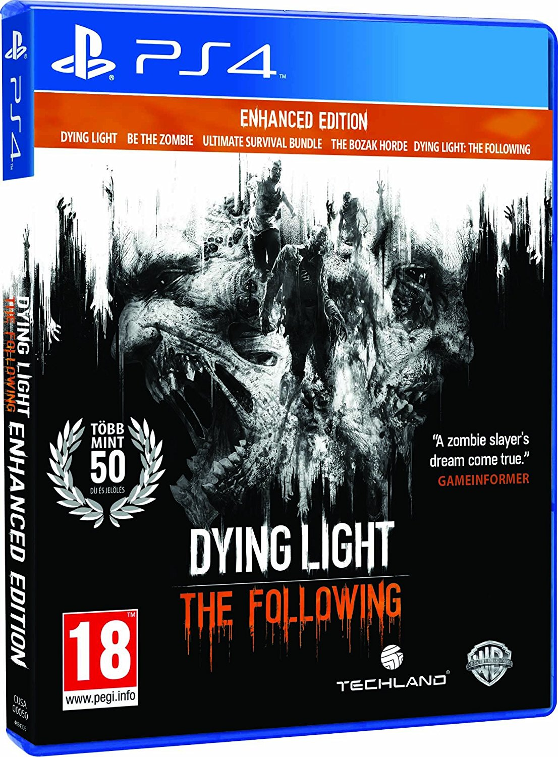 Dying Light: The Following - Enhanced Edition - PS4 - Video Games by Warner Bros. Interactive Entertainment The Chelsea Gamer