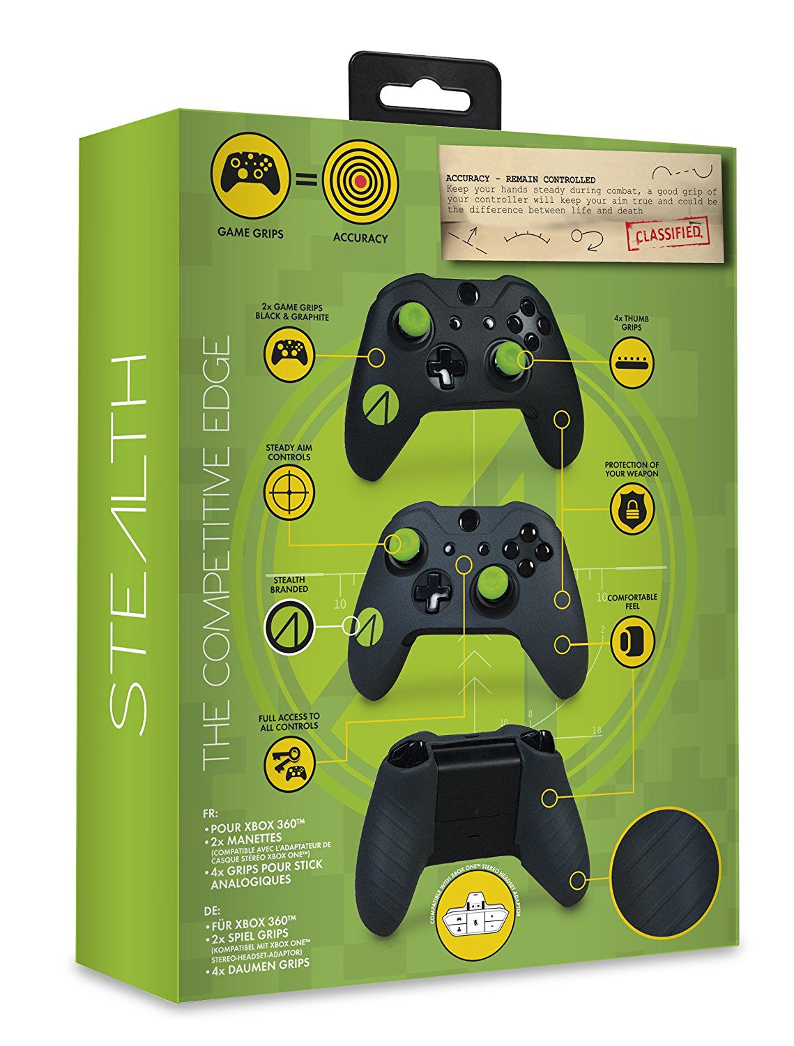 Stealth SX112 Game Grips (Xbox One) - Console Accessories by Stealth The Chelsea Gamer