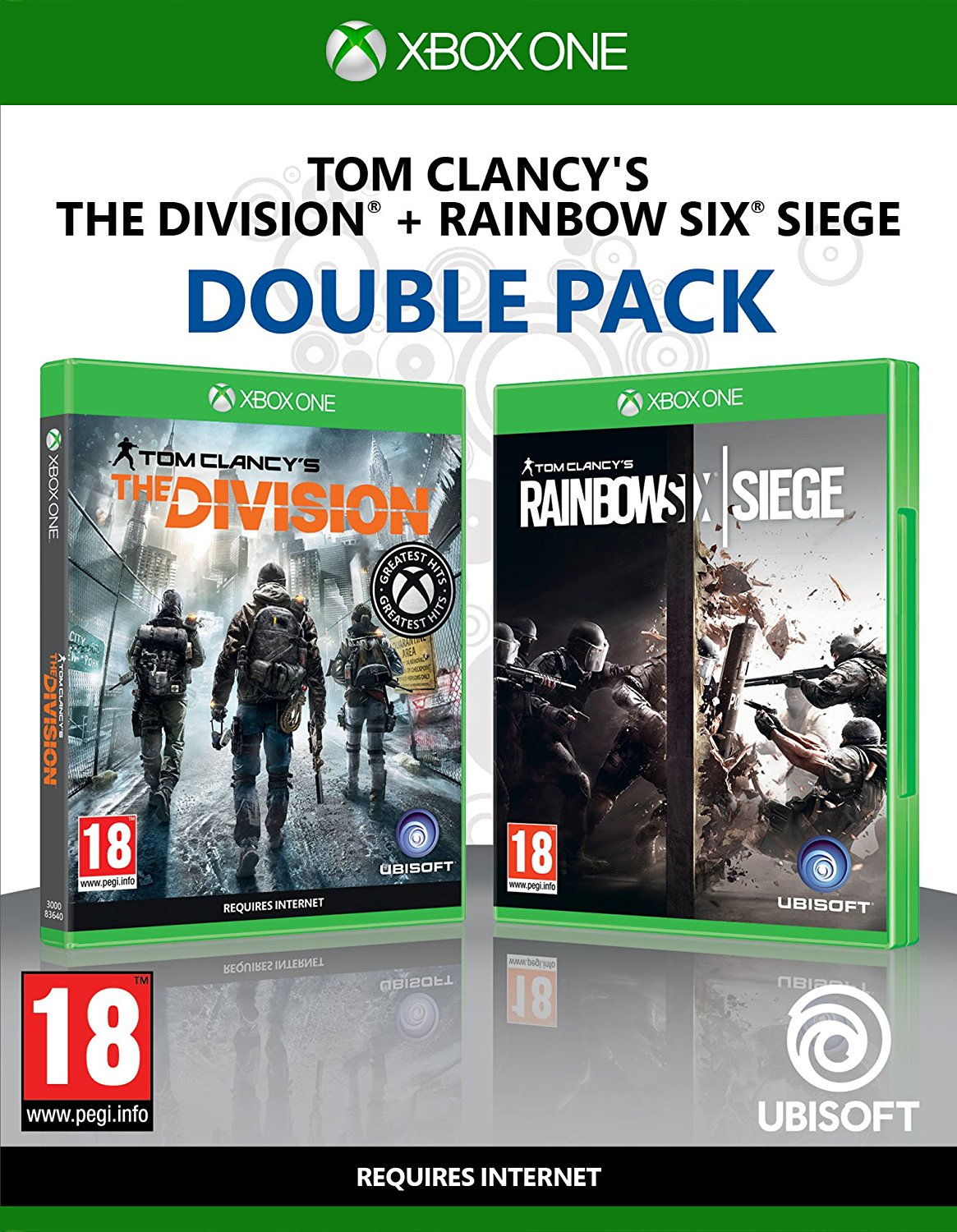 Rainbow Six Siege + The Division - Xbox One