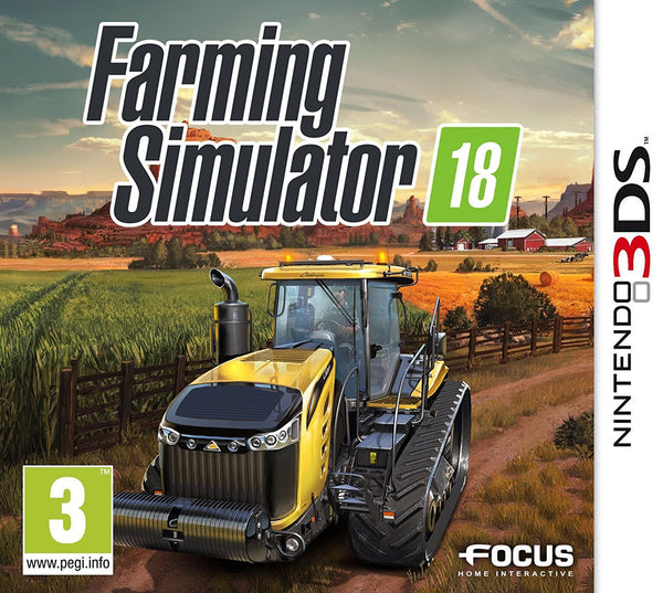 Farming Simulator 18 - 3DS - Video Games by Focus Home Interactive The Chelsea Gamer
