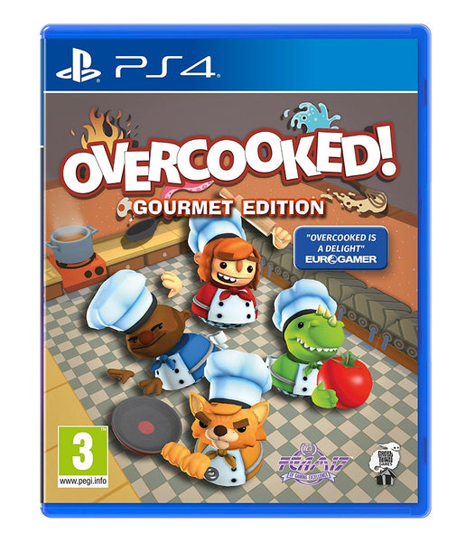 Overcooked: Gourmet Edition (PS4) - Video Games by Sold Out The Chelsea Gamer
