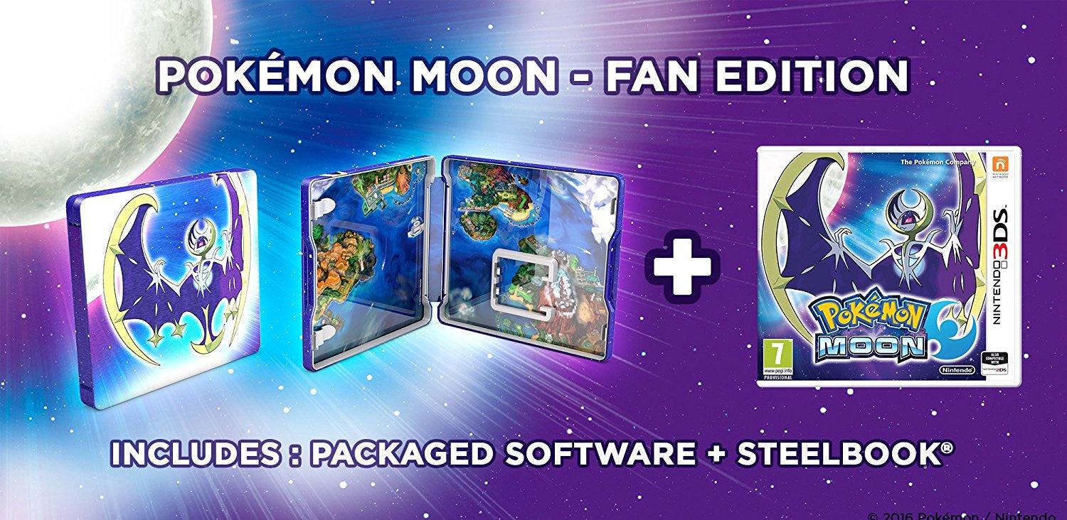Pokemon Moon Fan Edition 3DS