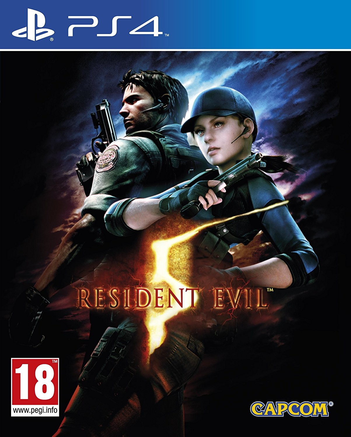 Resident Evil 5 HD Remake - PS4