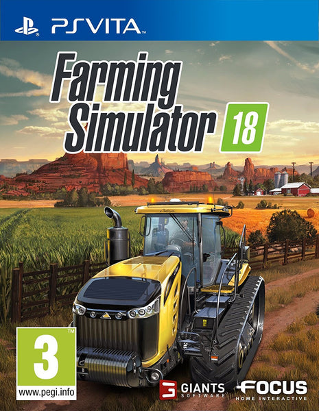 Farming Simulator 18 - PSVita - Video Games by Focus Home Interactive The Chelsea Gamer