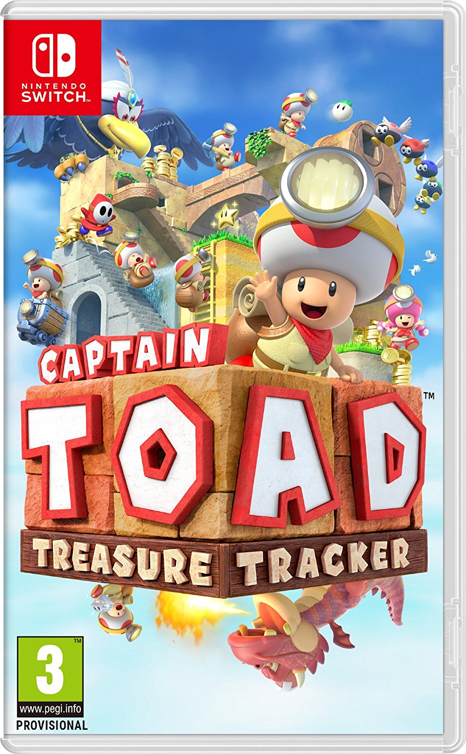 Captain Toad: Treasure Tracker - Video Games by Nintendo The Chelsea Gamer