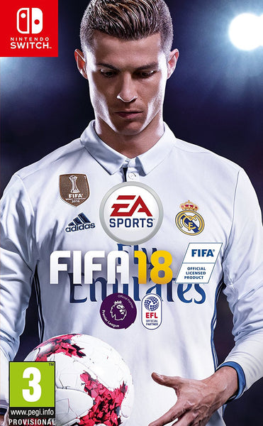 FIFA 18 for Nintendo Switch - Standard Edition - Video Games by Electronic Arts The Chelsea Gamer