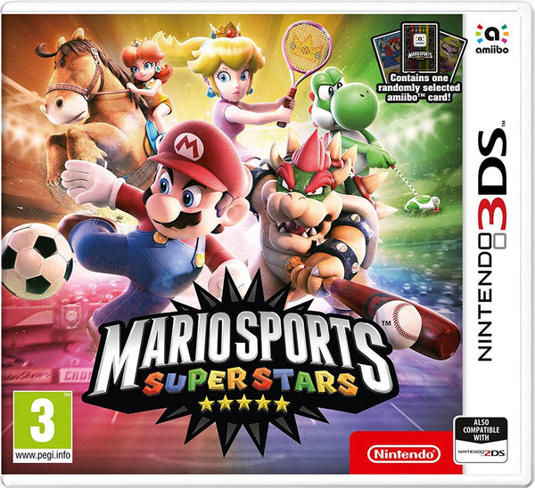 Mario Sports Superstars + amiibo Card (Nintendo 3DS) - Video Games by Nintendo The Chelsea Gamer