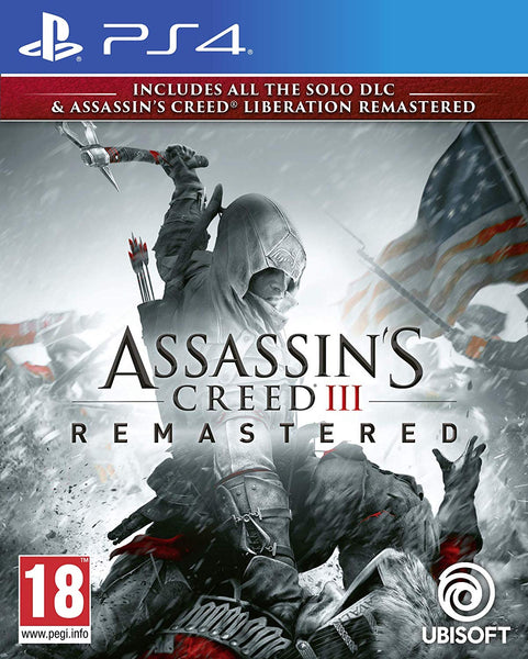 Assassin's Creed III Remastered - Video Games by UBI Soft The Chelsea Gamer