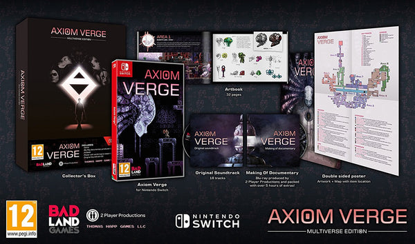 Axiom Verge Multiverse Edition -  Nintendo Switch - Video Games by Maximum Games Ltd (UK Stock Account) The Chelsea Gamer