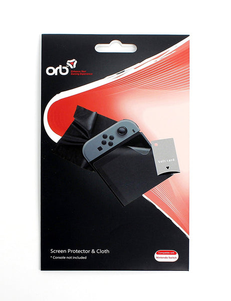 ORB Screen Protector and Cloth - for Nintendo Switch - Console Accessories by ORB The Chelsea Gamer