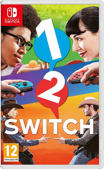 1-2-Switch - Video Games by Nintendo The Chelsea Gamer