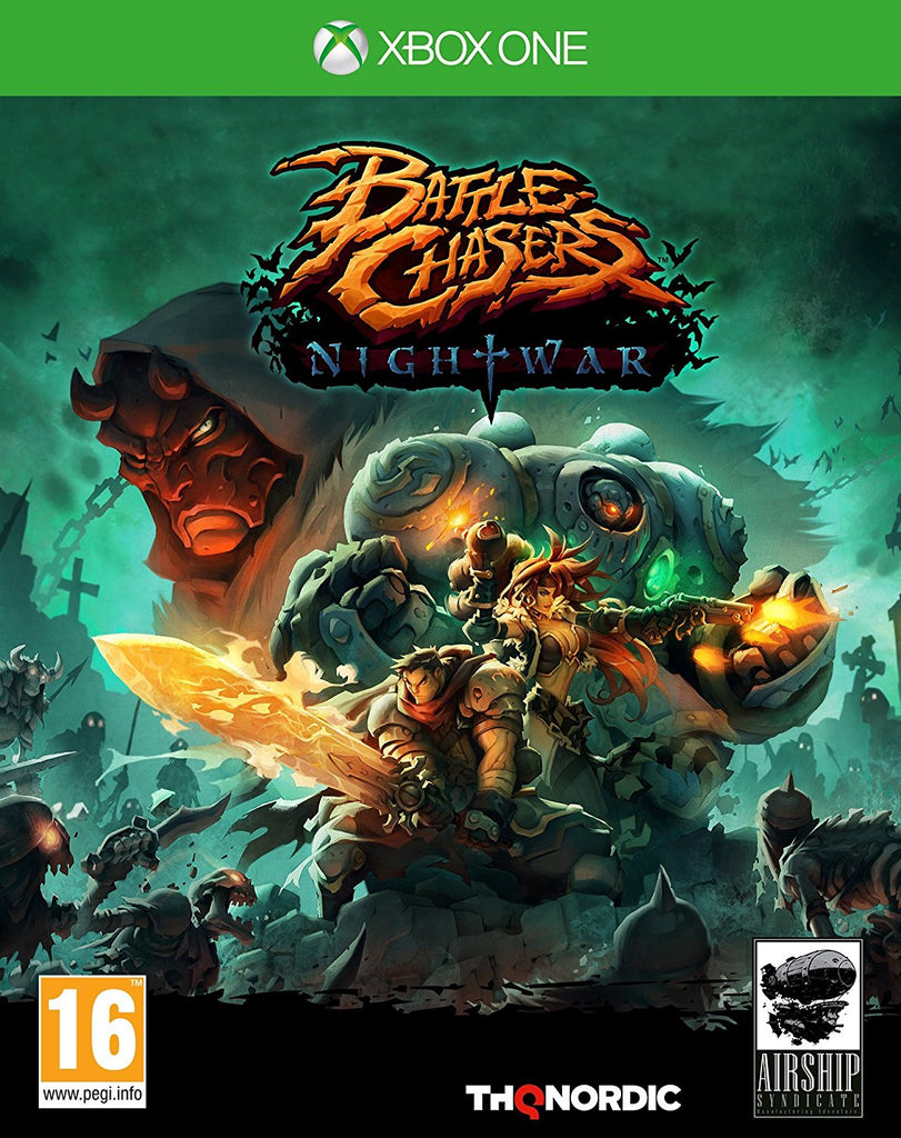 Battle Chasers Nightwar - Xbox One - Video Games by Nordic Games The Chelsea Gamer