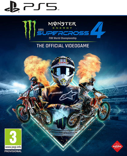 Monster Energy Supercross - The Official Videogame 4 - PlayStation 5
