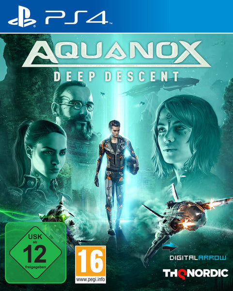 Aquanox Deep Descent - Video Games by Nordic Games The Chelsea Gamer