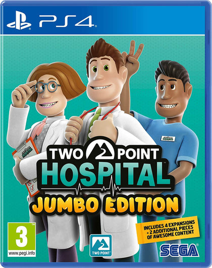 Two Point Hospital Jumbo Edition - PlayStation 4