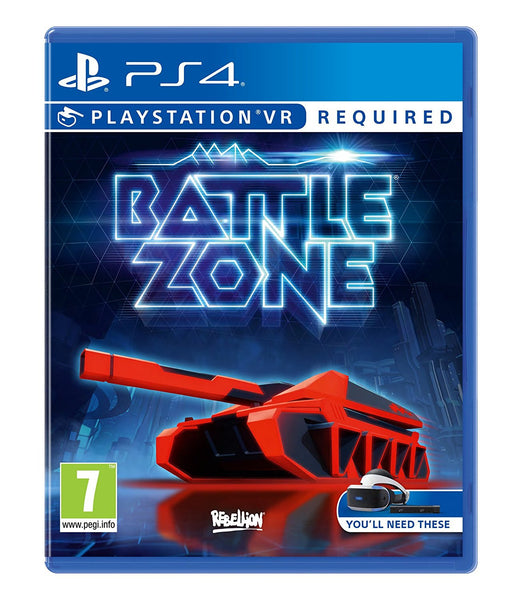 BATTLEZONE VR - Video Games by Sony The Chelsea Gamer