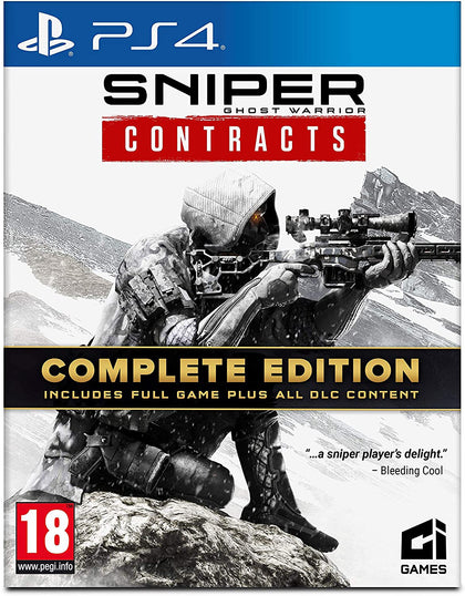 Sniper: Ghost Warrior Contracts - Complete Edition - PlayStation 4