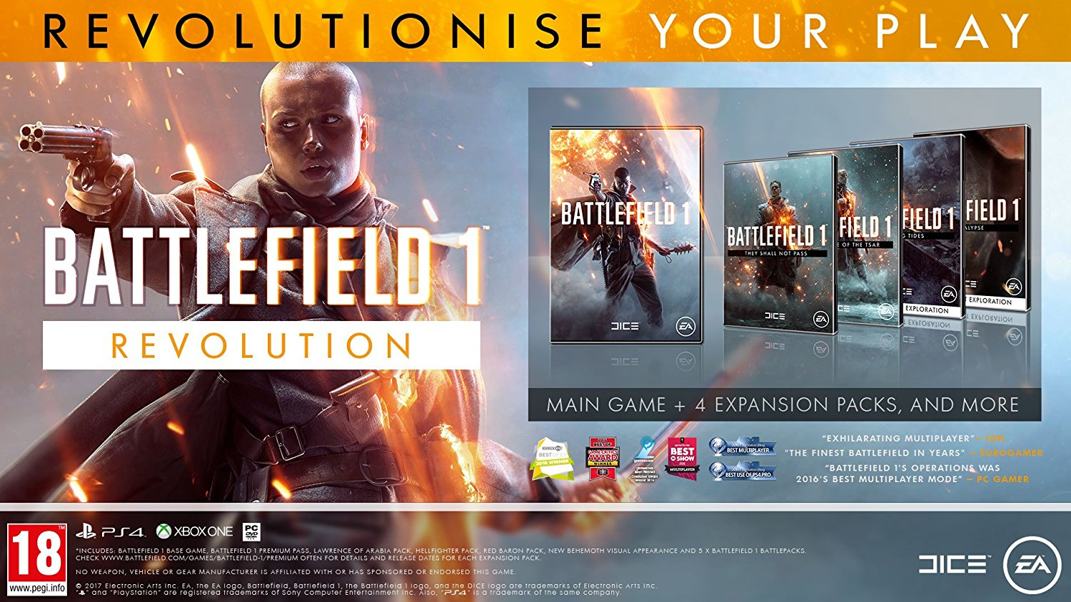 Battlefield 1 Revolution Edition - PS4