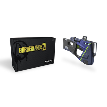 Borderlands 3 - Maliwan Pistol™ - Highly Detailed Finish - 1:1 Scale Replica