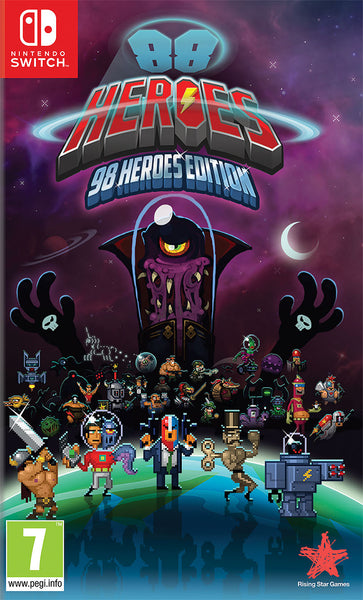 88 Heroes: 98 Heroes Edition - Nintendo Switch - Video Games by Rising Star Games The Chelsea Gamer