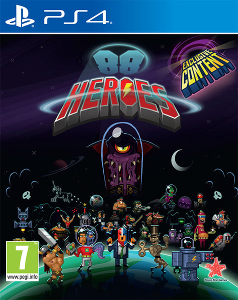 88 Heroes -  PS4 - Video Games by Rising Star Games The Chelsea Gamer