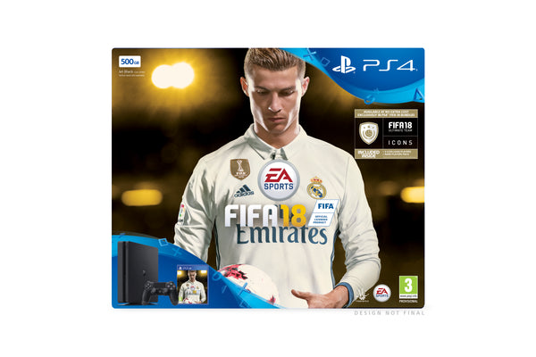 Sony PlayStation 4 - 500GB FIFA 18 Ronaldo Edition - Early Access Edition