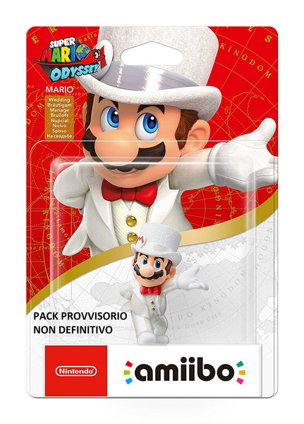 Super Mario Amiibo Wedding Mario