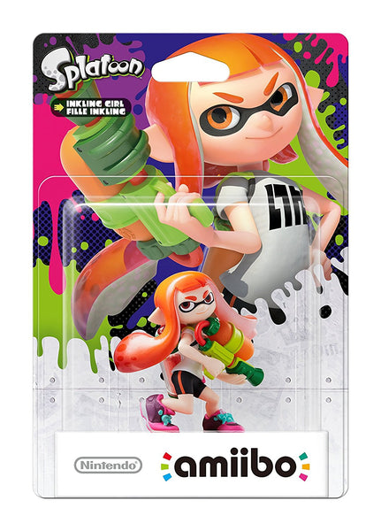 Splatoon (Inkling) Girl Orange Amiibo - Video Games by Nintendo The Chelsea Gamer
